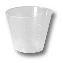 Measuring Cups 30ml - 1ml grad. (Pack of 80)