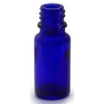 Packs of Blue Glass Bottles Size 10ml with caps